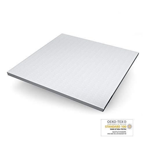 Genius Eazzzy Topper (Größe 200 x 200 x 7 cm) als Matratzenauflage für Matratzen & Boxspringbetten | Viskoelastischer Matratzentopper geeignet für Allergiker (weitere Größen erhältlich)
