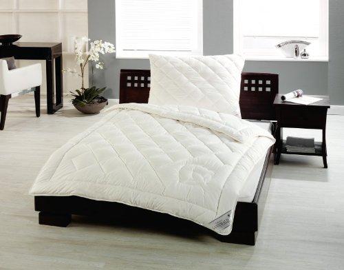 Sannwald kbA-Baumwolle - 135x200 cm, Ganzjahres Bettdecke, kdA BIO Qualität