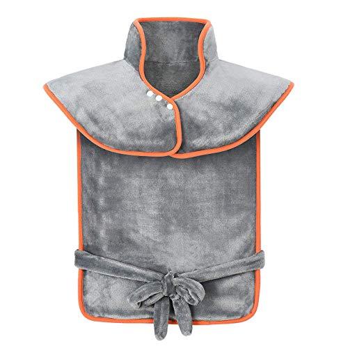 ATMOKO Heizkissen für Nacken, Schulter und Rücken Wärmekissen mit 3 Temperaturstufen schneller Heiztechnologie und 90 Min Abschaltautomatik Maschinenwaschbar ca. 60 x 85 cm