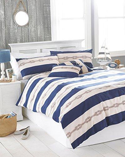 Riva Home Reef Bettwäsche-Set (Einzelbett) (Blau)