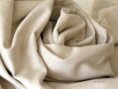 Leinendecke,Leinen Baumwoll decke, mittelschwere natürliche Stoffe , Decke für Sofa und Bett, BeccaTextile.