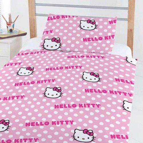 Hello Kitty Bett-Set - für Kleinkind, Junior und Kinderbett Betten