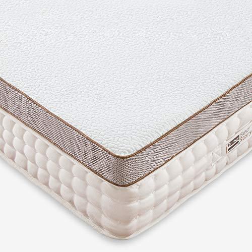 BedStory 5cm Gel Memory Foam Topper 180x200 Matratzentopper, Visco-Gelschaum Matratzenauflage für unbequemem Betten/Boxspringbett unbequemes Schlafsofa