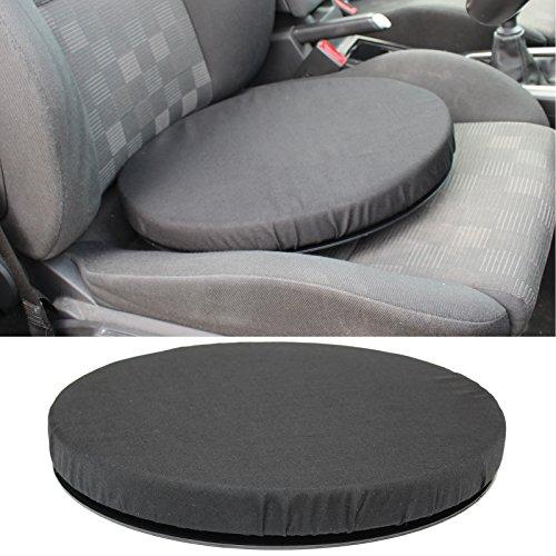 Hardcastle Drehender Autositz, Drehkissen, Aufstehhilfe - schwarz