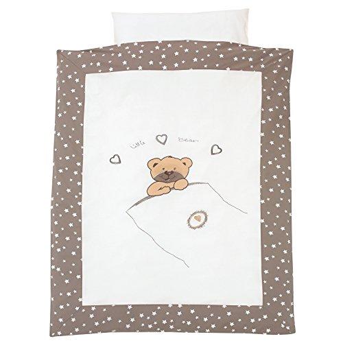Alvi Bettwäsche 100x135 cm Little Bear beige 562-6